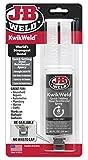 J-B Weld 50176 KwikWeld Steel Reinforced Epoxy Syringe - Dark...
