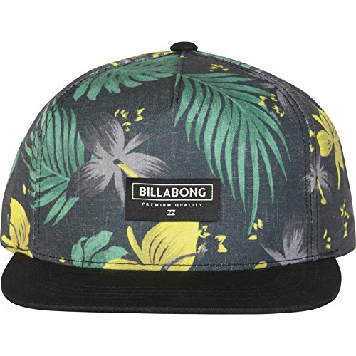 Billabong Men's Sly Snapback Hat, Black, One Size