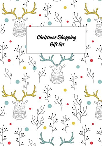 Christmas Shopping Gift List Gift Tracker Holiday Shopping List And Gift Ideas Recorder Organizer Planner Shannon Kelly 9781729439081 Amazon Com Books