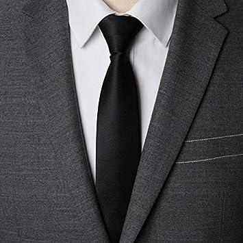 AYWEI Corbata Hombres Corbata Cremallera Lazy Tie Moda Sólido 6Cm ...