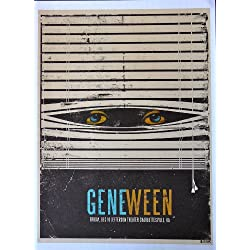 "Gene Ween - Live at Jefferson Theater - Concert Tour Poster - 10""x14"" - Charlottesville, VA 2010"