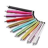 Qifumaer 10 PCS Ultra Smooth Universal Stylus Pen for All Moble Phones Tablet IPAD Apple iPhone Samsung Nokia BlackBerry HTC LG Motorola