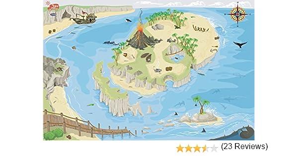 Le Toy Van - Alfombra para Juegos, diseño de Isla del Tesoro: Amazon.es: Juguetes y juegos