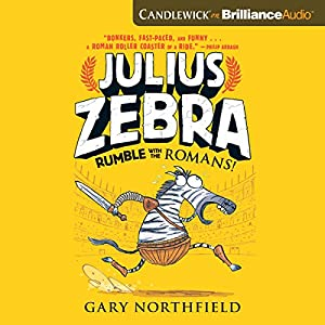 Julius Zebra: Rumble with the Romans! Audiobook