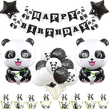 Amazon.com: Bonito juego de decoración de cumpleaños con ...