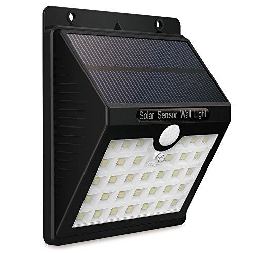 KEYNICE Solar Motion Sensor Lights Outdoor Solar Security Lights with 3 Mode, 33 LED Lights, Waterproof Solar Powered Wall Lights for Outdoor Wall, Back Yard, Fence, Garage, Garden, Driveway by KEYNICE (Image #6)