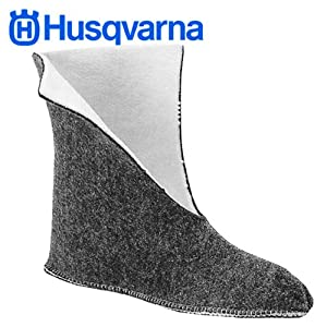 Husqvarna Boot Liners for Rubber Chainsaw Boots - Large 605000217