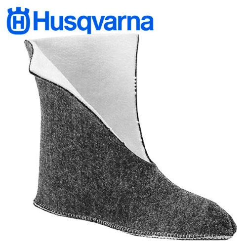 Husqvarna Boot Liners for Rubber Chainsaw Boots - Large (Weather Rubber Boot)