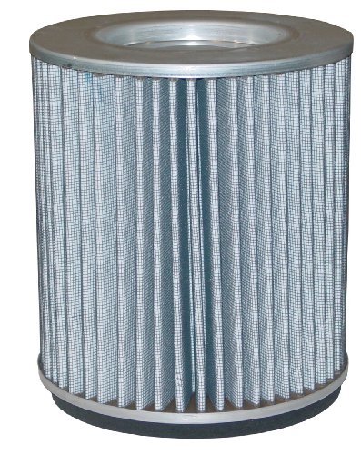 Solberg 239 Polyester Filter Element, 10'' Height, 4-7/8'' Inner Diameter, 9-1/4'' Outer Diameter, 570 SCFM by Solberg