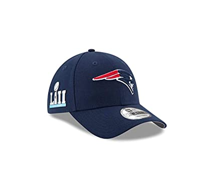 1221ad7fbda0b7 Image Unavailable. Image not available for. Color: 2019 Super Bowl Xlll Hat  Patriots Championship Hat Dad Gift Super Bowl 53 New England Blue