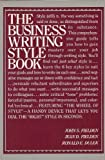 img - for Business Writing Style Book by John S. Fielden (1983-11-03) book / textbook / text book