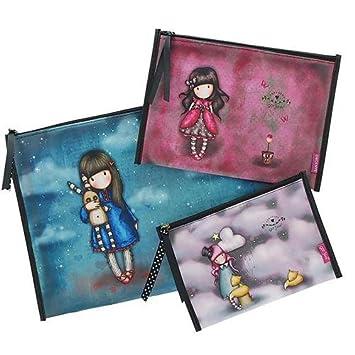 Set de 3 bolsas Santoro gorjuss: Amazon.es: Juguetes y juegos