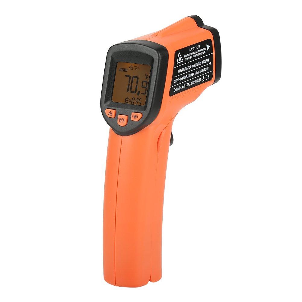 Infrared Thermometer,1pc Infrared Thermometer Digit LCD Display Non-Contact IR Laser Temperature Gun -20~380℃