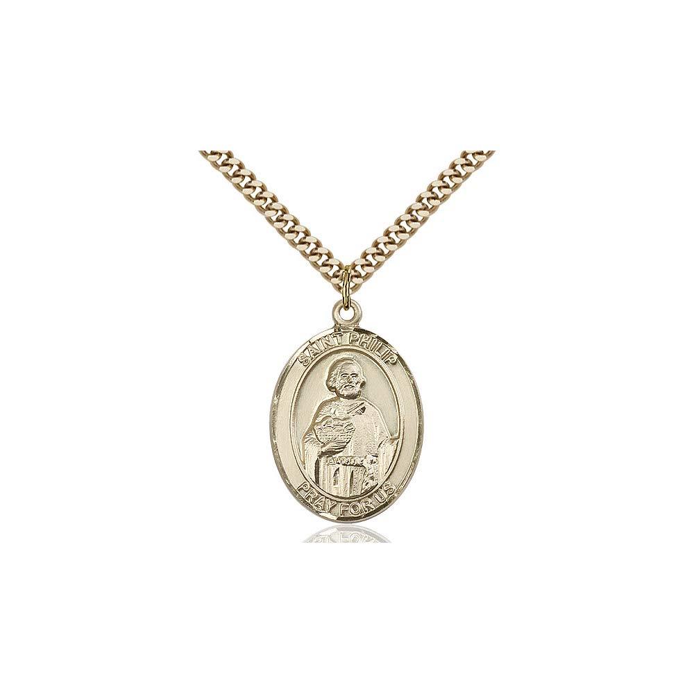 DiamondJewelryNY 14kt Gold Filled St Philip The Apostle Pendant