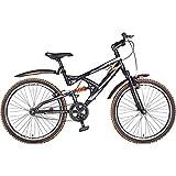Hero RX2 26T Single Speed Sprint Cycle without Disc Brake - Black & Orange