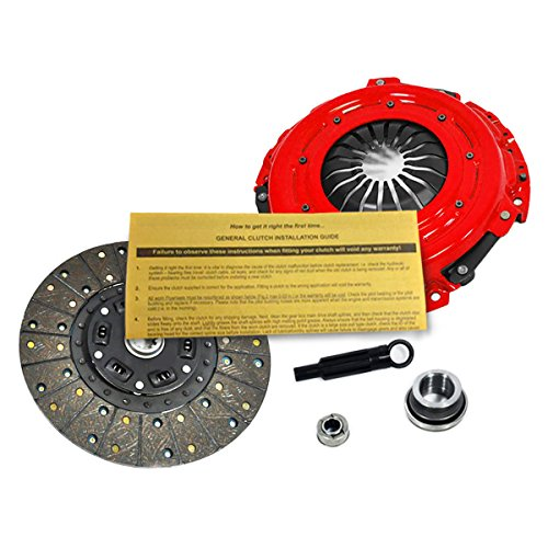 EFT STAGE 1 HD CLUTCH KIT FOR 1994-2004 FORD MUSTANG 3.8L 3.9L V6 - Heavy Duty Hd Pressure Plate