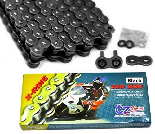 CZ Chains (CZ530150BLK) Black 530-Pitch 150-Link SDZ X-Ring Chain by CZ Chains