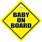 BABY iwantthatsign.com Yellow, Unisex Decal, Bumper Sticker, Grandchild On Board, Maternity Sign, New Baby Sign