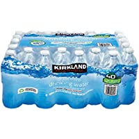 Kirkland Signature Purified Drinking Water, 16.9 Ounce, 4 Pack of 40 Bottles