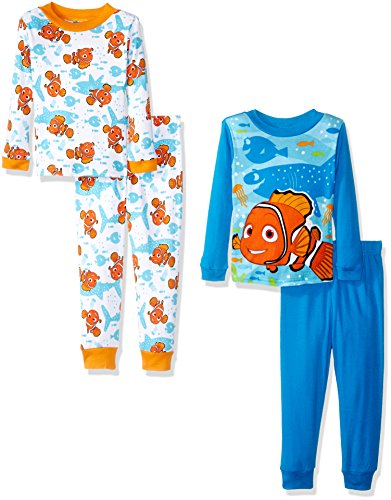 Disney Boys Finding Dory 4-Piece Pajama Set