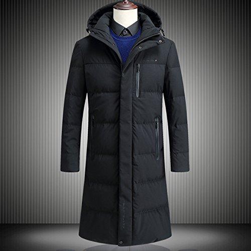 175 L Coat Winter Mens ZHUDJ Jacket Hooded Old Men'S 7n6qpS