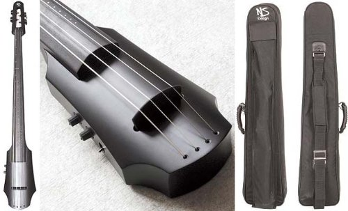 NS Design NXT Electric 4-String Cello With Satin Black Finish