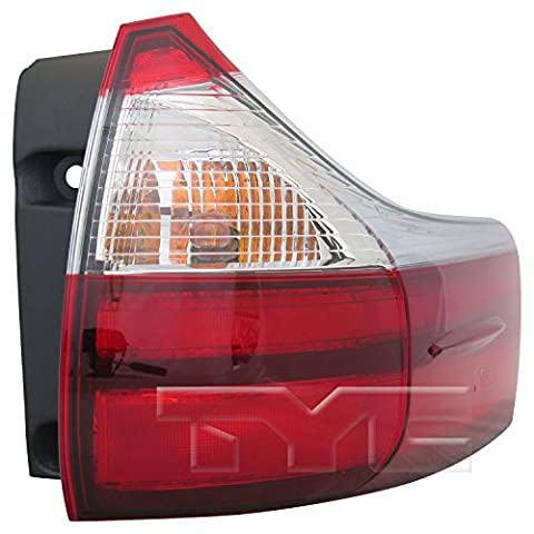 TYC 11-6753-00-9 Replacement Tail Lamp (Toyota Sienna) (Toyota Sienna Third Brake Light)