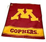 Team Golf Minnesota Golden Gophers Official NCAA 16 inch x 22 inch Golf Towel by 243805