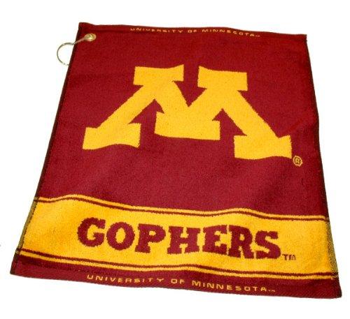 Team Golf Minnesota Golden Gophers Official NCAA 16 inch x 22 inch Golf Towel by 243805 by Team Golf