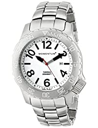 Momentum 1M-DV74L0 Men's Torpedo Sport Wrist Watches, White