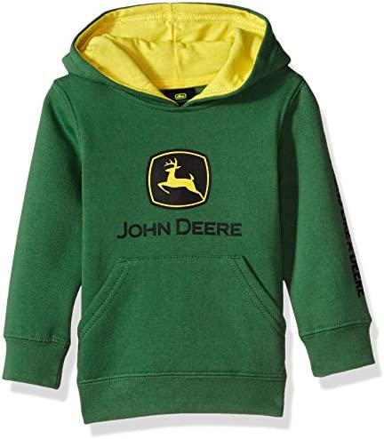 John Deere Baby-Boys Fleece Pullover Hoody Hooded Sweatshirt