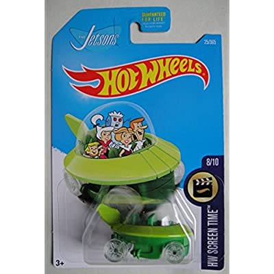Hot Wheels, 2020 HW Screen Time, The Jetsons Capsule Car 25/365: Toys & Games