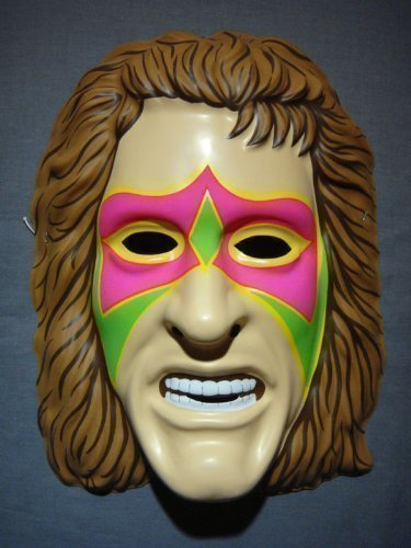 WWE The Ultimate Warrior Official Wrestling Mask Adult And Child Universal