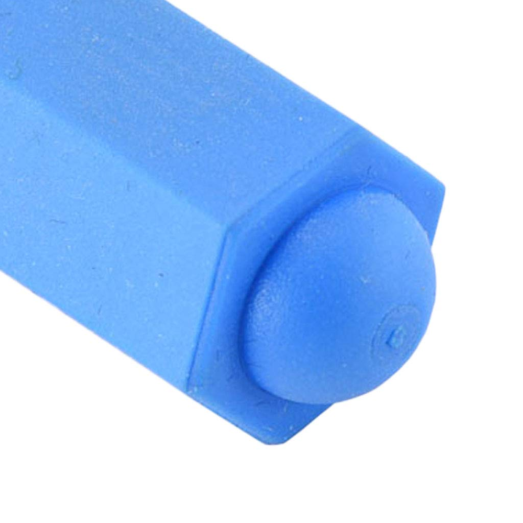B Baosity 2 Pieces Billiards Pool Cue Tip Head Dust Cover Rubber Protector Accessories