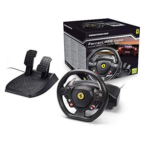Thrustmaster Ferrari 458 Racing Wheel for Xbox 360 (Renewed)