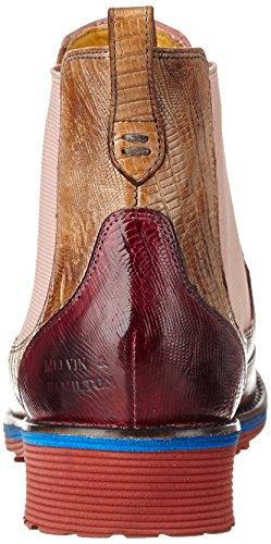 Rose Beige amp; eva Ela Fuxia Multicolore Rook Hamilton 13 Red Classiques Bottes Guana Mehrfarbig Amelie Tortora Femme D rose Melvin PS17dq1