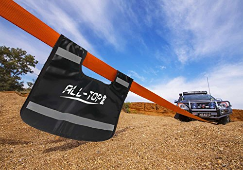 ALL-TOP Tow Strap Recovery Kit-3'' x 30' (32.000 lbs.Capacity) Nylon Snatch Strap + 3/4 D Ring Bow Shackles(2pcs)+Storage Bag-Off Road Winch Heavy Duty Equipment for Recovery&Towing by ALL-TOP (Image #7)
