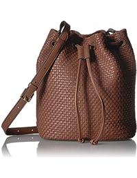 Bethany Woven Bucket Bag