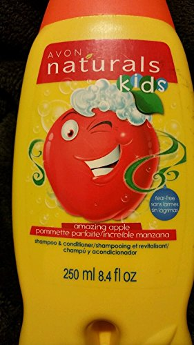- Avon Naturals Kids Amazing Apple Shampoo & Conditioner, 8.4 Fl Oz