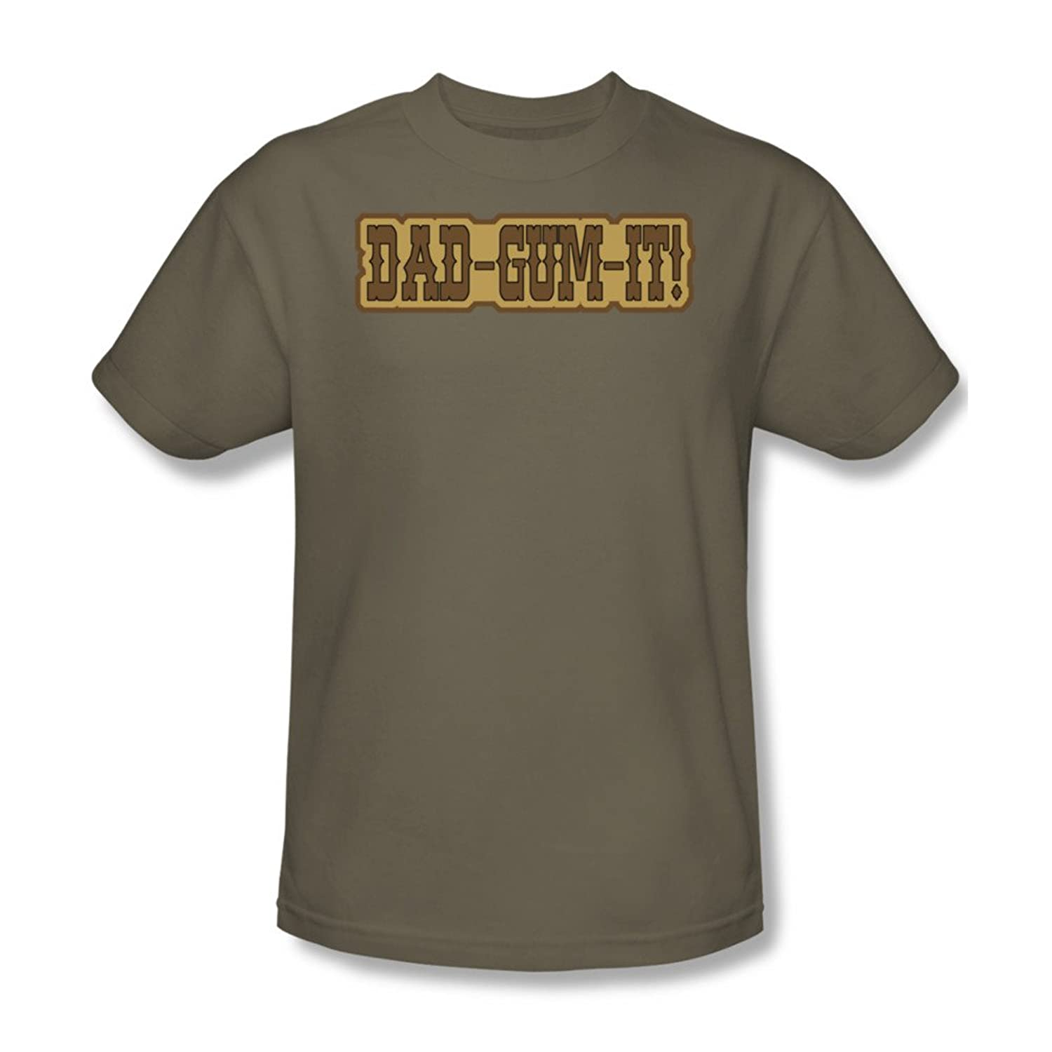 Dad - Mens T-Shirt In Safari Green