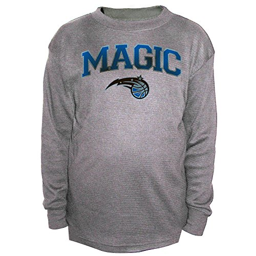 NBA Orlando Magic Men's B&T Team Thermal Long Sleeve Shirt, 4X, - B Orlando