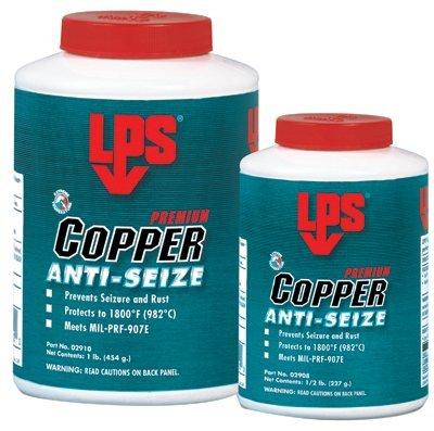 LPS Anti-Seize Lubricant, Military Grade, Copper, 1/2 lb (02908) ()