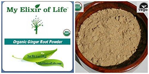 Raw Organic Ginger root powder 1 oz