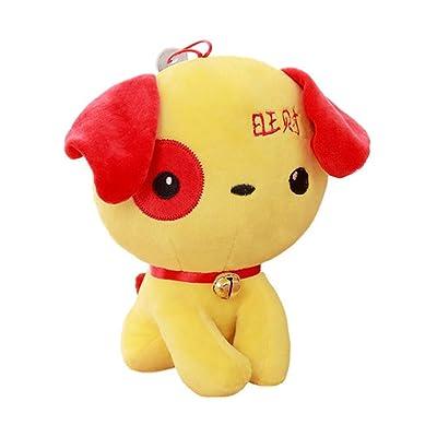 Peluche jouet chien poupée mignonne Mongkok chien nouvel an des cadeaux de bon augure, C5