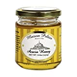 Maison Peltier, 100% Unpasteurized French Raw Acacia Honey, 250g (8.8oz) Jar