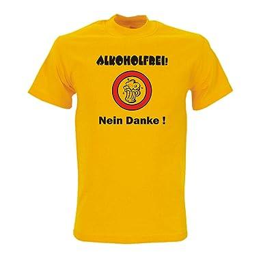 Alkoholfrei Nein Danke Bedrucktes T Shirt Mit Lustigem Witzigen