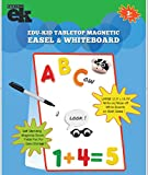 EduKid Toys Tabletop MAGNETIC EASEL & WHITEBOARD (2 Sided)