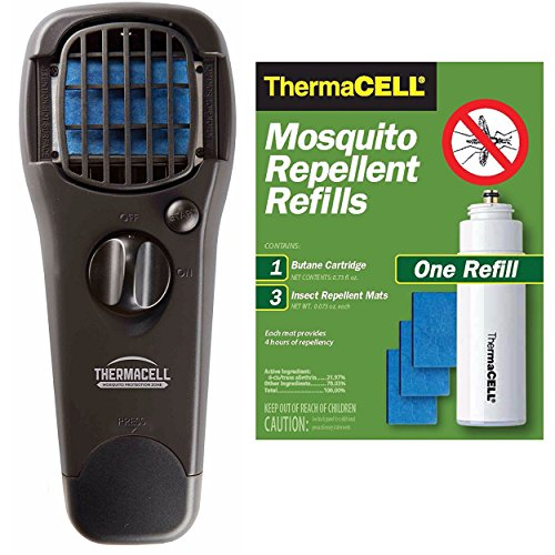 Thermacell Portable Mosquito Repeller  and R-1 Refill Pack -