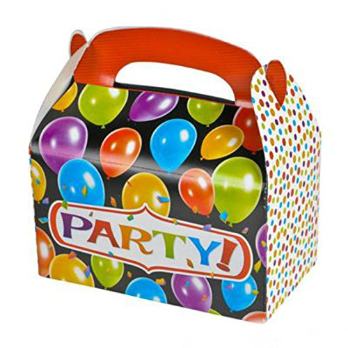 - Party Favor Party Treat Boxes (Pack of 12) - Play Kreative TM (Party)