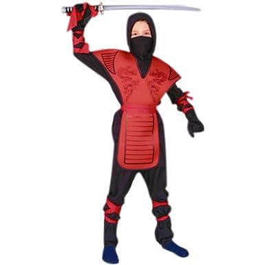 Disfraces RG 90005-RS Drag-n Ninja Master - Disfraz Rojo ...
